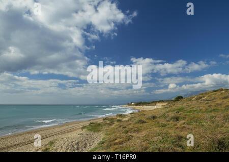Natural Park of Cabopino, Marbella, Costa del Sol, Andalusia, Spain. - Stock Image