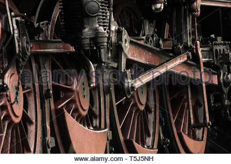 Steam train 41 1150 from 1939 Part 2 - Stock Image