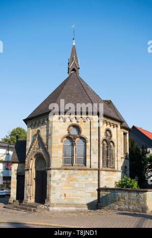 Deutschland, Nordrhein-Westfalen, Werl, Liebfrauenstrasse, Kapelle Mutter Gottes in der Not - Stock Image