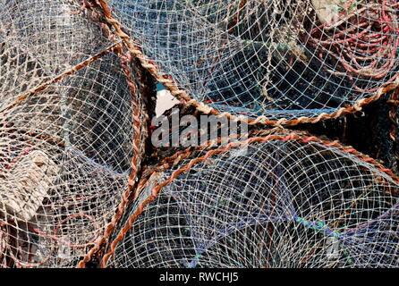 Fish traps, Nurana Island, Kingdom of Bahrain - Stock Image