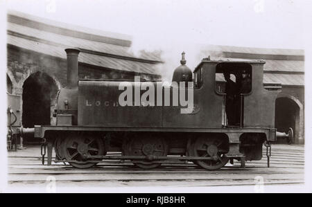 Highland Railway Locomotive 57 Lochgorn, Scotland. - Stock Image