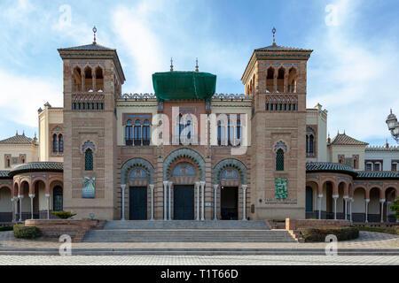 The Mudejar Pavilion, Seville, Spain - Stock Image