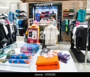 Playboy shop in Thailand - Stock Image
