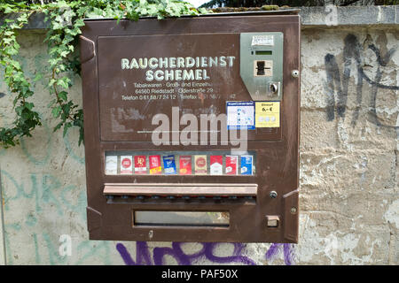 Cigarette Vending Machine - Stock Image