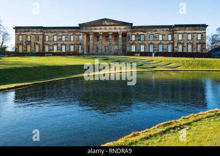 Exterior view of Scottish National Gallery of Modern Art - One, in Edinburgh, Scotland, UK - Stock Image