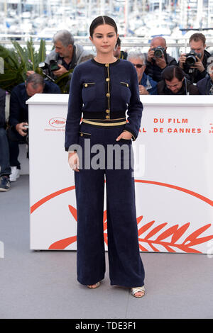 """72nd Cannes Film Festival 2019, Photocall film """"The dead don't die"""" Pictured: Selena Gomez  Where: Cannes, France When: 15 May 2019 Credit: IPA/WENN.com  **Only available for publication in UK, USA, Germany, Austria, Switzerland** - Stock Image"""