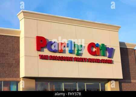 Party City Store Front - Stock Image