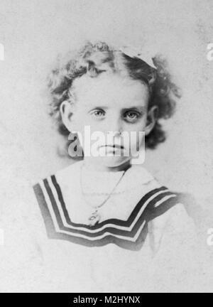 Young Frances Benjamin Johnston, 1870 - Stock Image