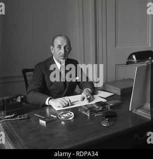 1950s, Prime Minister of Ireland - Stock Image