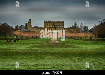 waddeston manor - Stock Image