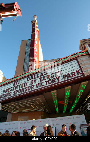 Mar 31, 2007 - Dallas, TX, USA - The AFI brought its  International screenplay festval to Dallas for the first time. - Stock Image