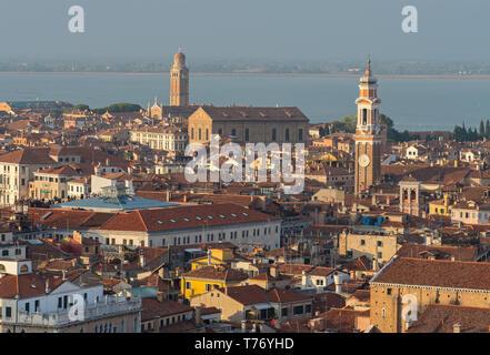 Venice Rooftops III - Stock Image