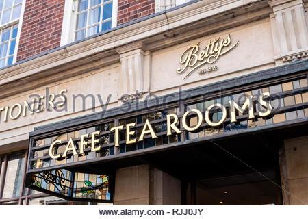 Bettys Tea Rooms York Yorkshire England - Stock Image