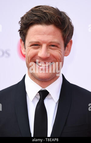 LONDON, UK. May 12, 2019: James Norton arriving for the BAFTA TV Awards 2019 at the Royal Festival Hall, London. Picture: Steve Vas/Featureflash - Stock Image