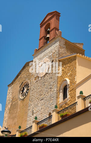 Italy Sicily Agrigento old town Cathedral Duomo Cattedrale Museo Diocesano Church religion Christian Catholic - Stock Image