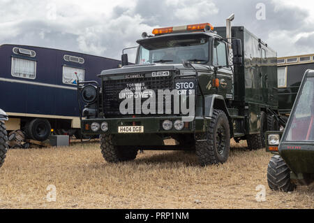 1991 Scammell Unipower S24 Torness Clansman on display at the Dorset steam fair 2018 - Stock Image