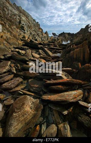 Rocky coastline - Stock Image