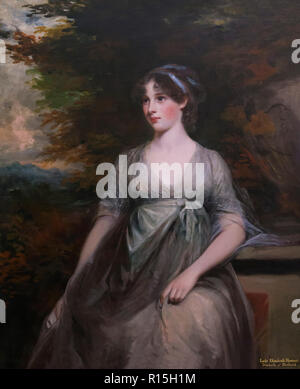 Lady Elizabeth Howard, 5th Duchess of Rutland,  John Hoppner, 1798, Lady Lever Art Gallery, Port Sunlight, Liverpool, England, UK, Europe - Stock Image