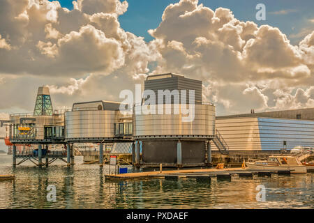 The Oil Museum At Stavanger Norway - Stock Image