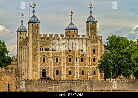 Tower Of London UK - Stock Image