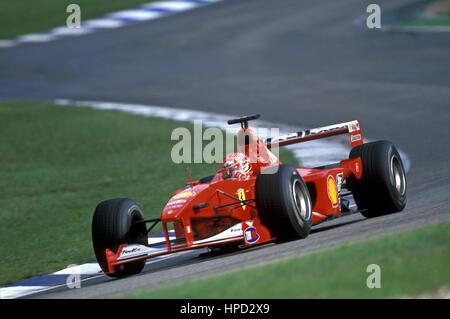 2001 Michael Schumacher Ferrari F-2001 German GP dnf - Stock Image