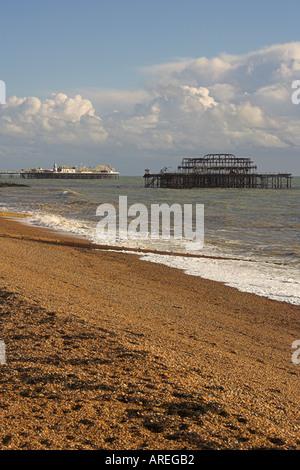 Brighton Piers - Stock Image