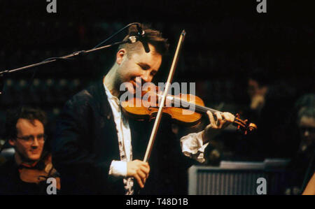 NIGEL KENNEDY English violinist about 1990 - Stock Image