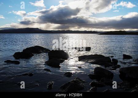 Lake Thingvallavatn, Iceland - Stock Image