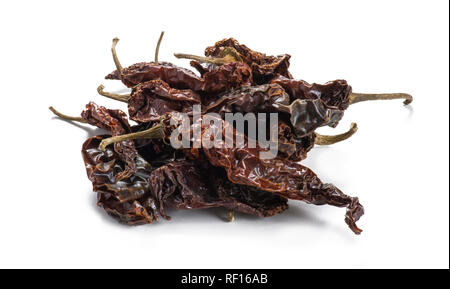 Whole Red Chili Peppers - Stock Image