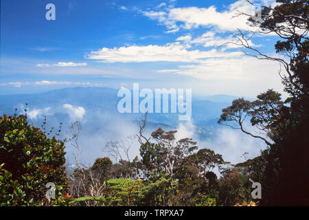 Mount Kinabalu National Park, Sabah, East Malaysia. Summit trail, view from c. 3200 metres - Stock Image