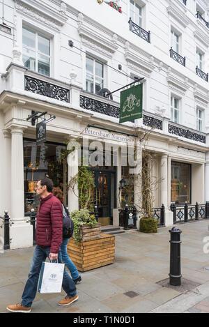 Petersham Nurseries shop front in King Street, Covent Garden, London, England, UK - Stock Image