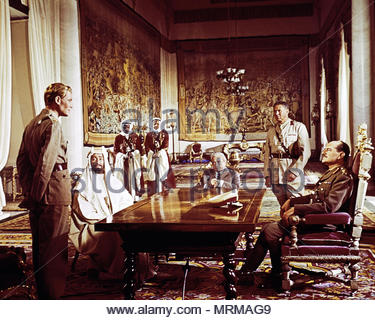 LAWRENCE OF ARABIA (1962) Film starring Peter O'Toole and directed by David Lean.  Editorial use only in conjunction with this film.  Copyright is owned by production company. All commercial use must be cleared with copyright holder (Columbia Pictures). - Stock Image