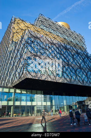 The Library of Birmingham in England UK - Stock Image