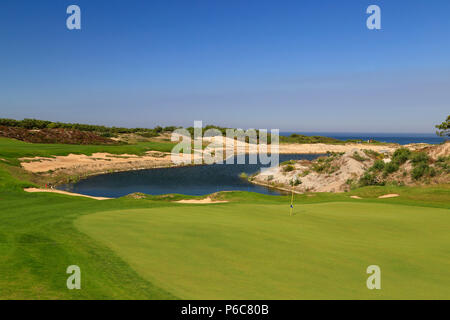 West Cliffs golf course, Obidos, Portugal - Stock Image