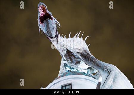 Dragon Harry Potter - Stock Image