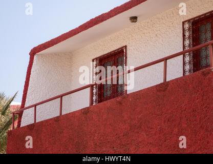 Houses at Baia das Gatas, Sao Vicente, Cape Verde Islands - Stock Image