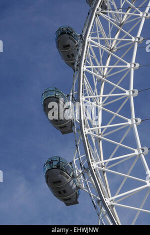 Close up of the Coca Cola London Eye - Stock Image