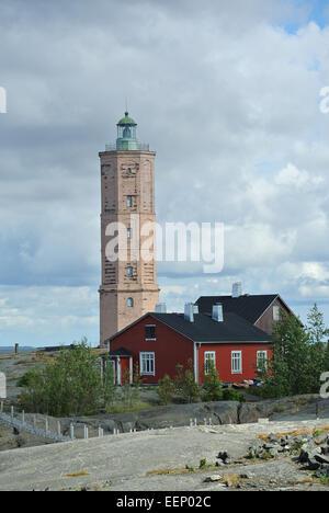 Landscape Söderskär lighthouse - Stock Image