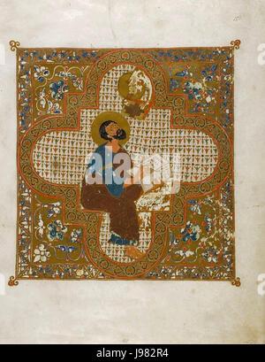 Ostromir Gospel - Stock Image