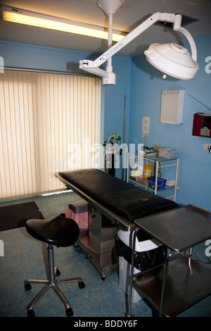 Operating Theatre in Veterinary Clinic - Stock Image