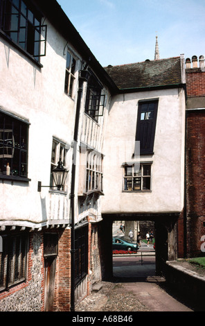 Tombland Alley Norwich England - Stock Image