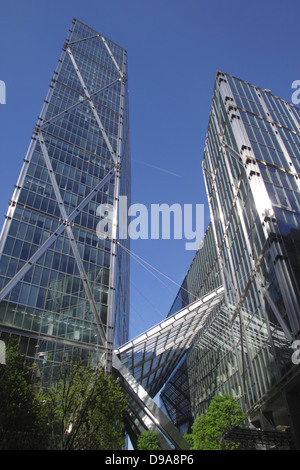 Broadgate Tower in the City of London - Stock Image