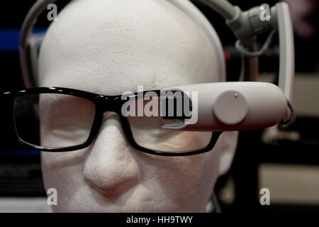 Augmented reality enabled display headset (AR headset) - USA - Stock Image