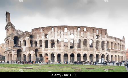 The Colosseum in Rome - Stock Image