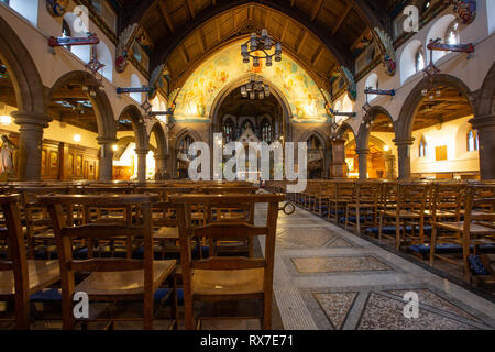 EDINBURGH, SCOTLAND - FEBRUARY 9, 2019 - St Mary's Cathedral of Our Lady of the Assumption is the catholic cathedral of the city - Stock Image