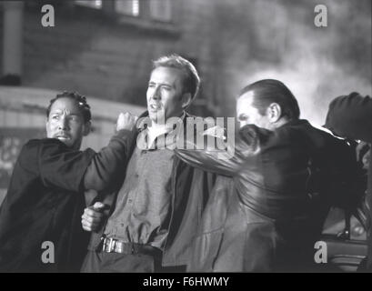 Jul 23, 2002; Hollywood, CA, USA; Actor NICOLAS CAGES (C) as Randall 'Memphis' Raines in the movie 'Gone - Stock Image