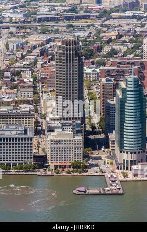 101 Hudson Street in Jersey City - Stock Image
