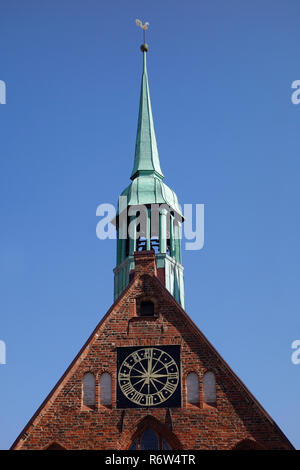 holy spirit hospital in lübeck - Stock Image