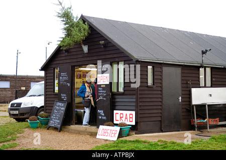 Aldeburgh Fish Shop - Stock Image