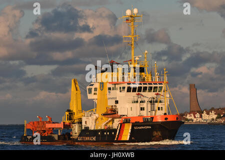 Pollution Control Vessel Scharhörn - Stock Image